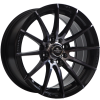 Ratlankis Forzza Atom 7X15 4X100/108 ET25 73,1 Black Magic
