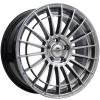 Ratlankis Forzza Velvet 8X18 5X108 ET40 67,1 Shining Silver