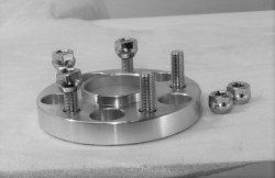 Adapteris 20 mm 5X108 67,1/63,4 M12X1,5