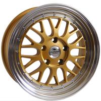 Ratlankis FORZZA Spot 7,5X17 5X120 ET42 72,6 gold/lm