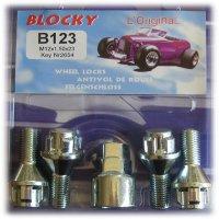 Sl varžtai BLOCKY B529 14X1.5 29 sfer