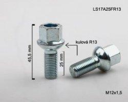 Varžtas 12X1.5 25 H17sfer plien ratl  LS17A25F(300)