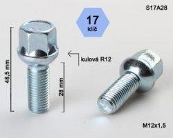 Varžtas 12X1.5 28 sferin.S17A28(300)