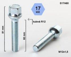 Varžtas 12X1.5 60 sfer S17A60(200)